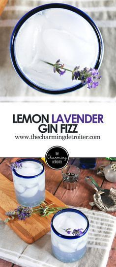 Lemon Lavender Gin Fizz: A refreshing cocktail featuring homemade lavender simple syrup paired with lemon juice and gin. Lemon Lavender Gin Fizz: A refreshing cocktail featuring homemade lavender simple syrup paired with lemon juice and gin. Cointreau Cocktail, Cocktail Drinks, Cocktail Recipes, Alcoholic Drinks, Beverages, Cocktail Ideas, Bourbon Cocktails, Drinks Alcohol, Alcohol Recipes
