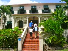 Barbados....a lot of history.  This was plantation that is now a museum.