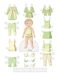 Toddler Fashion Friday - SHELBY by Julie Matthews from Paper Doll School