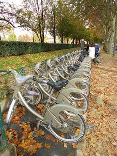 Paris's version of the Boris bikes