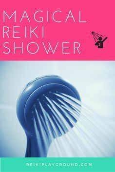 Reiki Shower why is this Reiki shower so magical? It washes away all the stuff you've been holding on to, are angry at, worried about. Helps you let go of the day, or start your morning right.