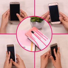 Renew your cell phone case, Diy Crafts Hacks, Diy Home Crafts, Diy Arts And Crafts, Fun Crafts, 5 Minute Crafts Videos, Diy Videos, Craft Videos, Diy 90s, Diy Coque
