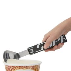 Game-worn hockey sticks are reborn as cool ice cream scoops. Great Gifts For Dad, Gifts For Girls, Sports Grill, Hockey Gear, Grill Apron, Bbq Set, Kitchen Necessities, Bbq Tools, Time To Eat