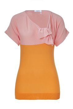 Colorblocked top