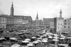 Viktualienmarkt 1910 Timeline Classics/Timeline Images