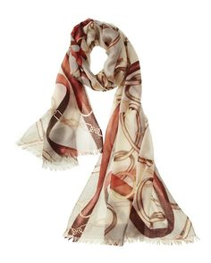 Caracol - Inspired Jewelry - Cavallo Featherweight Equestrian Cashmere Scarves, $149.00 (http://www.caracolsilver.com/cavallo-featherweight-equestrian-cashmere-scarves/)