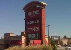 Kohl's Staples Dicks....ouch