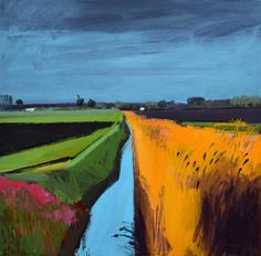 Fred Ingrams is an artist living in Norfolk mainly painting in The Fens. Impressionist Landscape, Landscape Artwork, Gouache, Painting Techniques, Land Scape, Contemporary Art, Abstract Art, Illustration Art, Fine Art