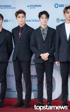 180512 Nct red carpet at Dream Concert Park Ji Sung, Dream Concert, Jeno Nct, Sm Rookies, Fashion Idol, Jung Jaehyun, Jaehyun Nct, Nct Taeyong, Jung Woo