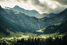 Daily Wallpaper: Adelboden, Switzerland | I Like To Waste My Time