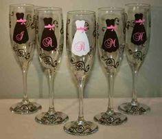 bridesmaids I want these for my girls when i get remarried ....someday!!!