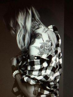 Maja Sablewska tattoo