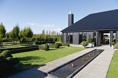 Black house love: Lyn Eglinton's Wairarapa home