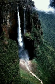 Salto Angel (Angels Falls) in my beautiful Venezuela! The inspiration for the movie Up!