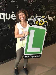 ALICIA COGOLLUDO!!! #hoyvoy #autoescuela #santacoloma
