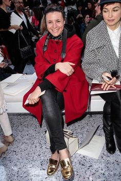 Garance Dore and that red coat I love