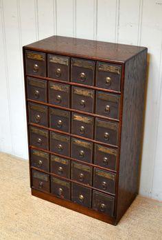 Antique Nut & Bolt cabinet | Dream Home Ideas | Pinterest ...