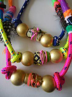 I'm gonna bring those neon bracelets back lol somehow. CRAFTY _ DOMINGO AYALA.