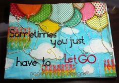 Page Master Designs Online: Art Journal--Let Go