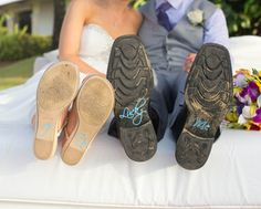 """message on the shoes. """"I do"""" """"She's mine"""" Wedding photography"""