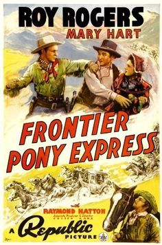 Synopsis: Roy Rogers plays a pony express rider who travels the dangerous California-to-Kansas City route. With the Civil War raging in the East, California becomes a battleground of its own with both the Union and Confederate forces trying to convince California to join their side. Mercenary businessman Lassiter (Keane) plays both sides against each other so that he can hopefully take California territory for himself. Lassiter tries to recruit Roy to send forged orders and