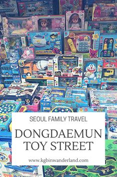 Dongdaemun Toy alley Seoul, Seoul attractions, Seoul activities, Seoul, Seoul Korea, Seoul travel, Seoul travel tips, Seoul travel guide, things to do in Seoul, must see in Seoul #seoultravel #familyfriendly #kidfriendly #seoul #traveltips #travelblog #seoulkorea Seoul Travel Guide, Travel Tips, Travel Destinations, Food Travel, South Korea Travel, Asia Travel, Travel With Kids, Family Travel, Seoul Attractions
