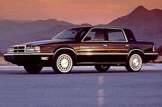 Dodge Dynasty LE, my 1st car... A blue 1991.