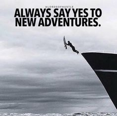 Comment if you love adventures Quotes About Strength And Love, Quote Of The Day, Motivational Images, Quotes Images, Hustle Quotes, Fb Page, New Adventures, Positive Thoughts, Motivation Inspiration
