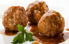 Be prepared for a full, happy belly with these delicious meatballs. Pair with noodles or mashed potatoes to create a meal the whole family will love.