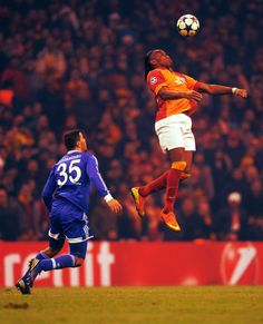 Larger than life..DIDIER DROGBA...