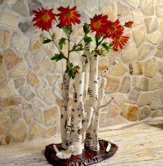 One day left! Enjoy coupon ETSYMARKET with 10% off and free Priority shipping. #ETSYMARKET #birchtreevase #birchtree #ceramicsculpturalvase Zen Decor, Birch Tree, Original Piece, Ikebana Vases, Ceramics, Ceramic Flowers, Tree Vase, Nature Inspiration, Vase