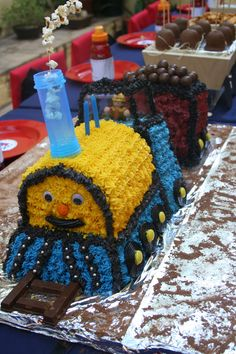 Michel-Georges train cake.