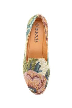 Bucco Rafaela Tapestry Smoker Shoe