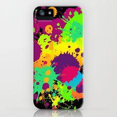 Splashs VI iPhone & iPod Case by Rain Carnival - $35.00 #iphone #samsung #mobile #case #skin #splash #colorful #summer