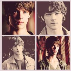 WHOAA.  Little Colin Ford, all grown up; he and Jared are very similar..  Supernatural has always been kick-ass with casting.
