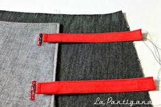 La Pantigana: MsMSW: Falda Siri (sew along). Bastilla, Siri, Belt, Sewing, Tutorials, Accessories, Ideas, Fashion, Sewing Patterns