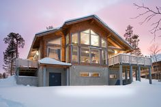 Looking for a Maison Bois Honka. We have Maison Bois Honka and the other about Maison Interieur it free. Archi Design, Cottage Plan, Facade House, Scandinavian Home, Log Homes, Architecture, Planer, Home And Garden, Rustic
