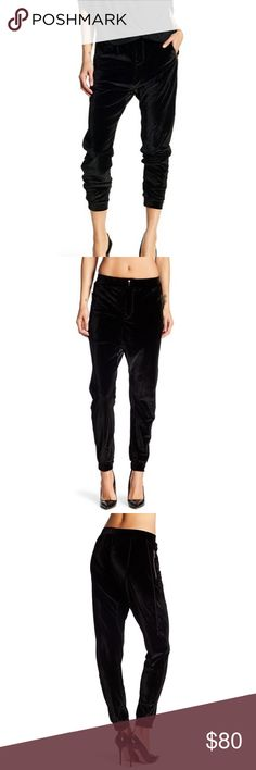 One by One Teaspoon Joggers These super cute Joggers are NWOT the tags fell of in my drawer at some point I've never worn them! They have a drop crotch fit they are very soft velour they have two zippered pockets in the side! One Teaspoon Pants Track Pants & Joggers