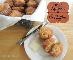 Fabulous Dried Apricot Muffins