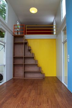 Incredible loft stair ideas for small room (9)