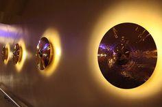 Luminária de prato