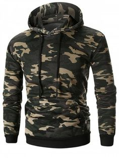 Cheap Fashion online retailer providing customers trendy and stylish clothing including different categories such as dresses, tops, swimwear. Ripped Hoodie, Sweater Hoodie, Sports Hoodies, Cool Hoodies, Hoodie Sweatshirts, Camouflage, Mens Fashion, Cheap Fashion, Men Casual
