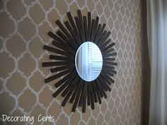 Decorating Cents: Sunburst In The Dining Room