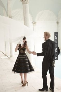 BHLDN has gorgeous photos. Bridesmaid Dresses, Prom Dresses, Formal Dresses, Black White Wedding Dress, Midnight Wedding, Black Tie Affair, Bhldn, Event Dresses, Formal Wedding