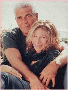 Barbra& Her Husband,James Brolin -I love that these two awesome performers have survived hollywood for so many beautiful years!!!