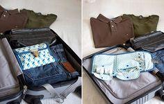 Anleitung Reisetasche für Kabel und anderes Kleinzeugs #diy #nähen