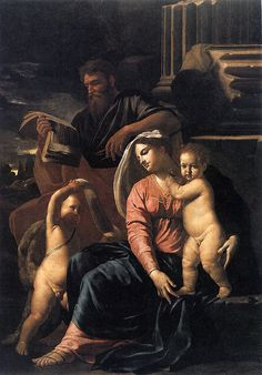 PoussinEarlyYears-The Holy Family with St.John. The Toledo museum of Art, Ohio
