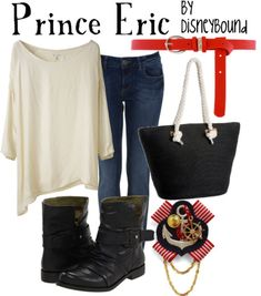 Disney Bound - Prince Eric from The Little Mermaid - my sunday outfit :) Prinz Eric, Disney Mode, Disney Fun, Funny Disney, Disneybound Outfits, Disney Inspired Fashion, Disney Fashion, Disney Themed Outfits, Estilo Disney