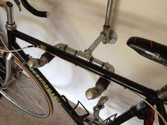 Industrial Iron Pipe 'Bike Rack' - Fuji'd. $147.50, via Etsy.