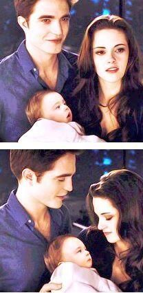 Bella, Edward and Renesmee, Breaking Dawn Part 2 .